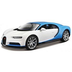 Машинка  Bugatti Chiron Design Exotics, 1:24 Maisto. Цвет: разноцветный