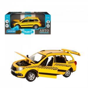 Машинка металлическая Lada Granta Cross Такси 1:24 Автопанорама