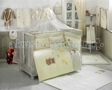 Комплект в кроватку  Honey Bear Soft (6 предметов) Kidboo