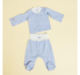 Комплект Серая звездочка (кофточка и штанишки) Pecorella