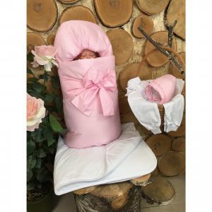 Комплект  на выписку, розовый GulSara