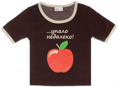 Футболка детская Яблоко от яблони Ехидна