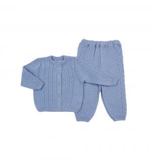 Комплект кофта/брюки , цвет: голубой Уси-Пуси