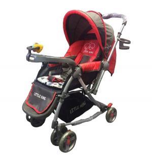 Прогулочная коляска  LK- 217 R, цвет: красный Little King