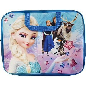 Папка-сумка «Холодное сердце» А4 CENTRUM. Цвет: синий