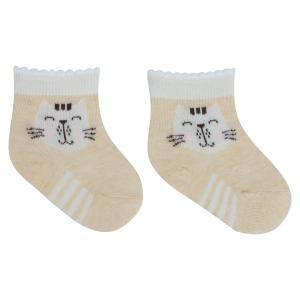 Носки  Сливки, цвет: бежевый/белый Crockid