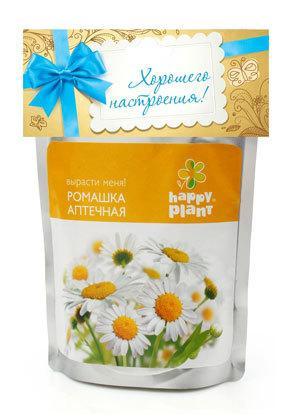 Набор для выращивания Ромашка аптечная Happy Plant
