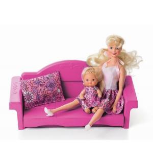 Мебель для куклы  Диван раскладной Зефир Огонек