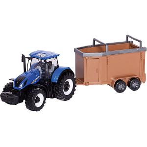 Трактор  Farm tractor, 1:32 Bburago. Цвет: коричневый