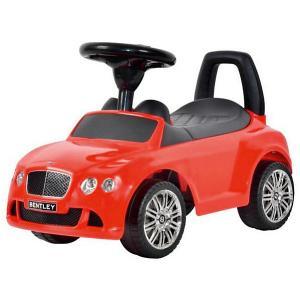 Машина-каталка  Bentley, красная Bugati