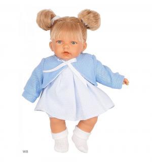Кукла  Дели в голубом 27 см Juan Antonio