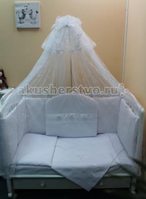 Комплект в кроватку  Снежанна (7 предметов) Балу