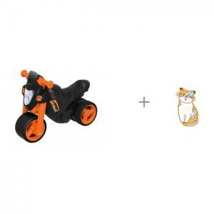 Каталка  Мотоцикл Sport Bike со звуковыми эффектами и Пластмастер Мяч Neo 12.5 см BIG