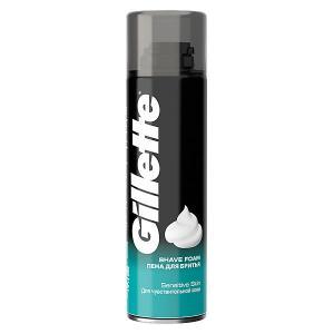 Пена для бритья  Classic Sensitive 200 мл Gillette