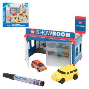 Игровой набор  Парковка с индуктивной машинкой S+S Toys