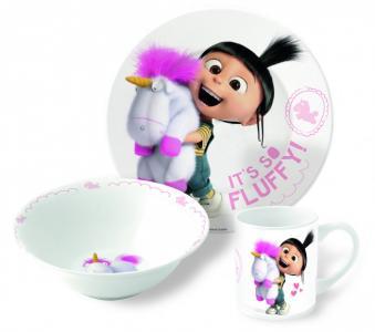 Набор посуды керамической Флуффи (3 предмета) Stor