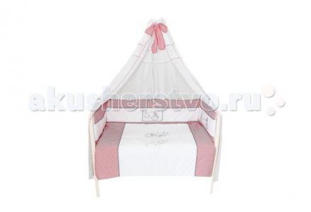 Комплект в кроватку  Красная шапочка (7 предметов) Bombus
