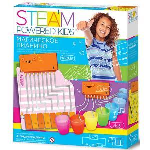 Набор для конструирования  Steam Powered Kids Магическое пианино 4M. Цвет: разноцветный