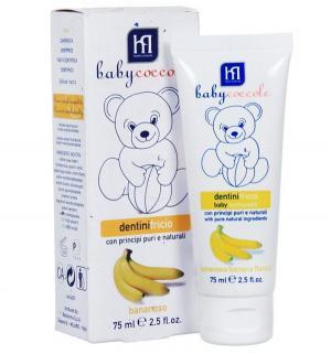 Зубная паста  со вкусом банана, от 12 месяцев, 75 мл Babycoccole