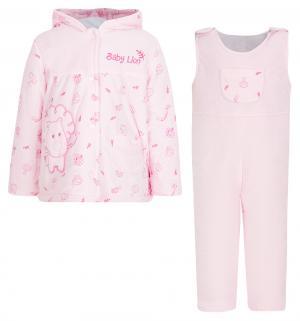 Комплект куртка/полукомбинезон , цвет: розовый Nannette