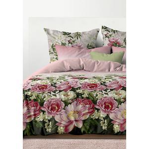Комплект постельного белья  Гармония, 1,5-спальное Романтика. Цвет: разноцветный