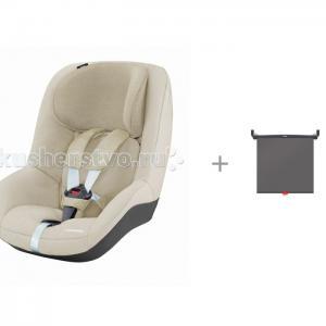 Автокресло  Pearl Nomad Sand с солнцезащитной шторкой Munchkin Brica Maxi-Cosi