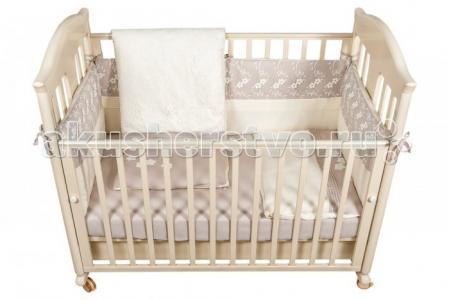 Комплект в кроватку  Elegante (6 предметов) Bebe Luvicci