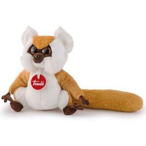 Мягкая игрушка  Рыжий лемур, 15 см Trudi. Цвет: оранжевый
