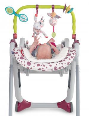 Набор для стульчика CHICCO POLLY  Progress 5 дуга с игрушками и вкладыш