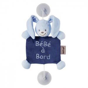 Знак Baby on board Alex & Bibou Кролик Nattou