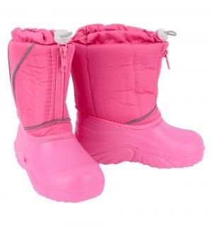 Сноубутсы , цвет: розовый Дюна