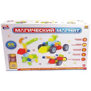 Конструктор  Магический магнит, 65 деталей ABtoys. Цвет: разноцветный