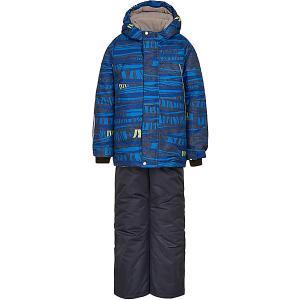 Комплект Oldos Роджер: куртка и полукомбинезон. Цвет: синий