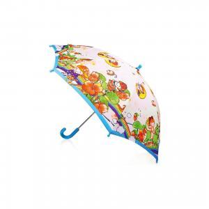 Зонт-трость, детский, рисунок На радуге Zest