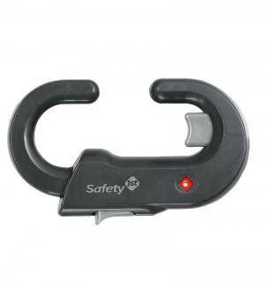 Блокиратор  открывания распашных дверей шкафа, цвет: серый Safety 1st