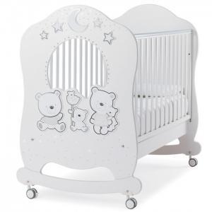 Детская кроватка  Happy Family Oblo Italbaby