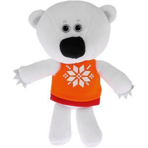 Мягкая игрушка  Ми-ми-мишки Медвежонок Белая Тучка, 20 см Мульти-Пульти