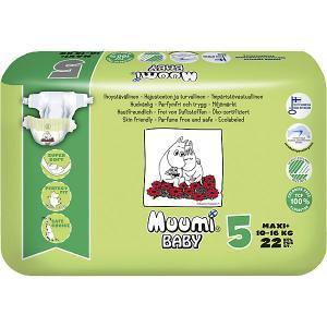 Подгузники  Maxi Plus 10-16 кг, 22 штуки Muumi