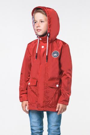 Куртка , цвет: бордовый Boom By Orby
