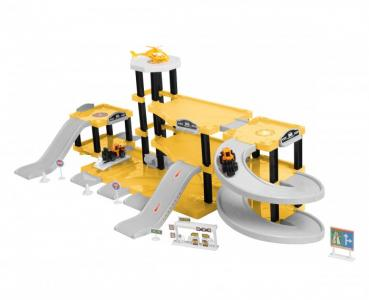 Паркинг 3-уровневый Стройка (57 деталей) BeBoy