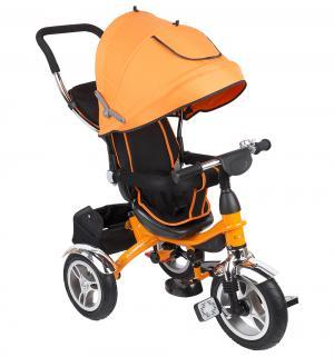 Трехколесный велосипед  Prime Trike Pro, цвет: оранжевый Capella