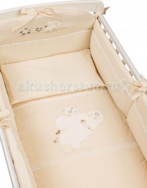Комплект в кроватку  Флиппер (5 предметов) Picci