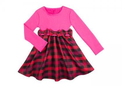 Платье для девочки Клетка Idea Kids