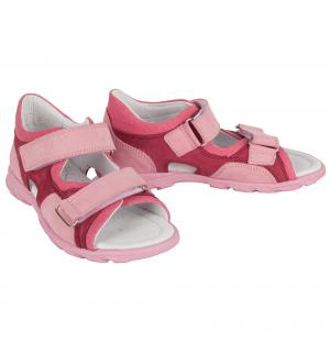 Сандалии , цвет: розовый Dandino