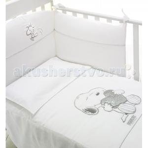 Комплект в кроватку  Snoopy (4 предмета) Baby Expert