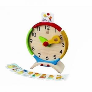 Деревянная игрушка  Часы Plan Toys