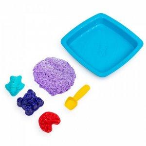 Кинетический песок Hабор для лепки Песочница с формочками Kinetic Sand