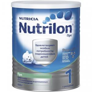 Молочная смесь  Пре 1 0-6 месяцев, 400 г Nutrilon