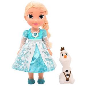 Набор кукол  Холодное сердце: Эльза и Олаф, 35 см, свет, звук Disney. Цвет: разноцветный