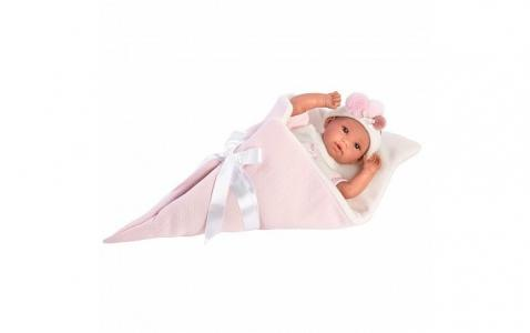 Кукла в розовом конверте 36 см Llorens